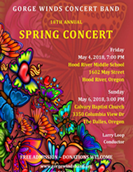 2018 GWCB Spring Concert