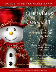 2019 Christmas Concert Flyer